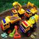 儿童男孩工程车套装挖掘机挖土机铲车卡车翻斗车玩具车  2752449