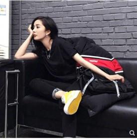 纯色短袖T恤女2020夏季韩国新款学生衣服女宽松上
