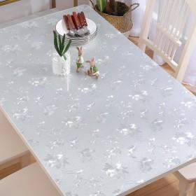 透明加厚磨砂塑料软玻璃家用防水台布PVC水晶餐桌布
