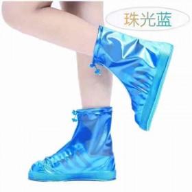 防滑耐磨加厚防雨鞋套防雪防污下雨雪天男女水鞋套带防