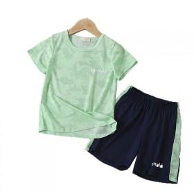 【速干两件套】夏季中大男童帅气时髦运动套装
