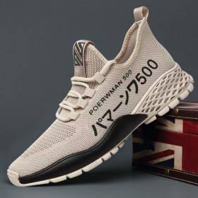 夏季透气休闲鞋运动鞋男跑步鞋百搭薄款网鞋网面鞋