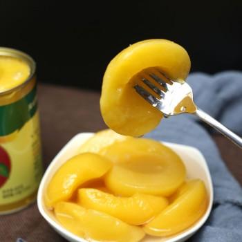 好吃又健康木糖醇黄桃罐头425g
