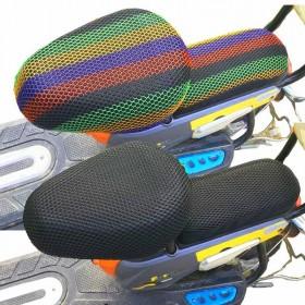 电动车坐垫套摩托车防晒防雨隔热加加厚3D坐垫套