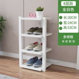 北欧鞋架子简易门口家用室内好看多层窄小鞋柜