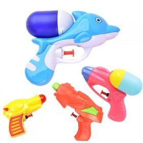 儿童水枪玩具小号呲水枪玩具沙游泳池儿童亲子游沙滩