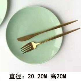陶瓷西餐盘 餐具 菜盘家用 烤箱微波炉专用