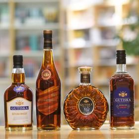 4条 洋酒组合威士忌xo白兰地伏特加鸡尾酒套装