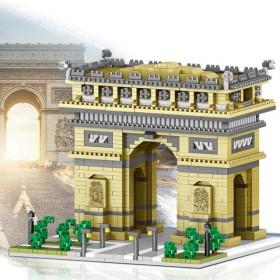 乐高积木微颗粒高难度拼装模型建筑立体拼图益智玩具