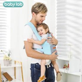 婴儿背带前后两用多功能外出简易四季出门带娃神器轻薄
