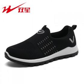双星老北京布鞋老人健步鞋
