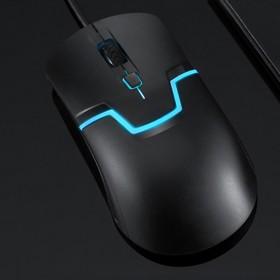 新品NUOS诺手M100有线鼠标光电发光吃鸡游戏办