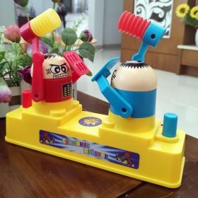 儿童攻守对战小人对打机玩具
