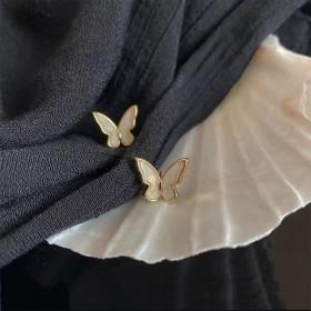 蝴蝶翅膀滴油耳钉