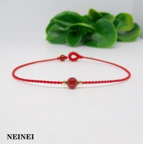 细款简约转运珠红绳手链本命年手饰旺姻缘情侣男女礼物