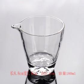玻璃杯玻璃公杯分茶器