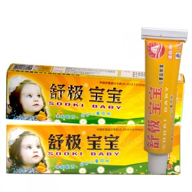 舒极宝宝湿疹膏儿童皮肤瘙痒抑菌止痒膏蚊虫叮咬