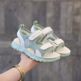 2020夏季新款小雏菊软底儿童鞋子女童鞋学生凉鞋