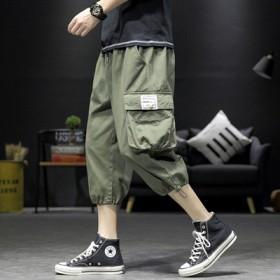 2020新款短裤男外穿宽松韩版潮流抽绳青少年帅气时