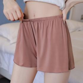 睡裤夏短夏季女短裤安全裤外穿打底裤居家裤性感大码宽