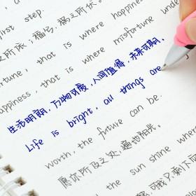 英语字体字帖楷书行楷大学女生漂亮情书翩翩体练字帖英