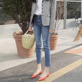 牛仔裤女直筒2020年新款夏九分裤高腰显瘦小个子潮