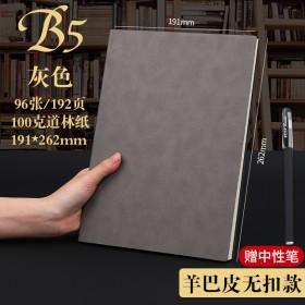 创意套装a5笔记本子商务复古简约笔记本办公记事