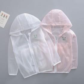 儿童透气防晒衣男女童防紫外线婴儿宝宝沙滩皮肤衣边防