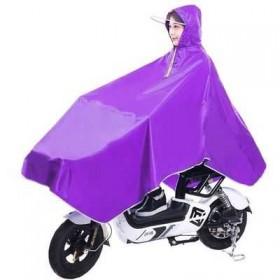 雨衣电动车成人雨披男女学生雨衣单人加大加厚自行车雨