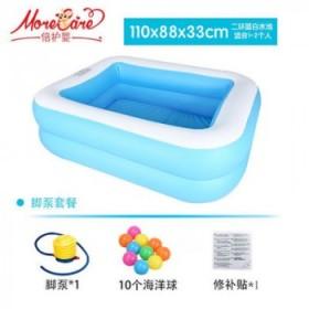 倍护婴(more care)儿童游泳池充气家用加厚