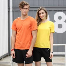 夏季短袖凉快速干衣男短袖T恤运动跑步清凉宽松透气