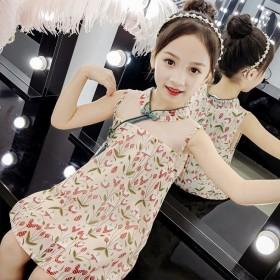 女童汉服连衣裙夏装2020新款中国风旗袍