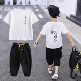速干童装男童夏装套装
