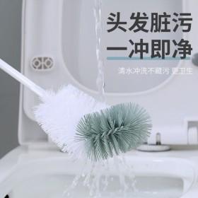 【一个】浴室清洁刷长柄无死角厕所刷软毛马桶刷弯曲刷