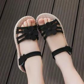 女童凉鞋网红爆款儿童凉鞋软底防滑中大童韩版可爱公主