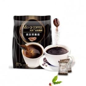50袋美式三合一速溶咖啡燃脂瘦体黑咖啡冷热双泡咖啡