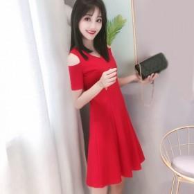 优质连衣裙2020新款韩版宽松裙子女夏性感显瘦大码