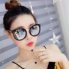 新款太阳镜女圆脸墨镜防紫外线时尚潮流太阳眼镜明星热