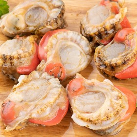 1斤 70枚 现剥特大号扇贝肉冷冻海捕即食扇贝肉熟