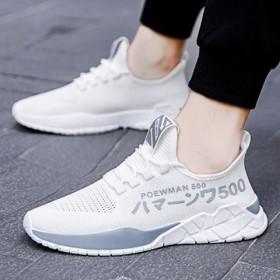 休闲鞋男士韩版潮夏季透气网面运动鞋