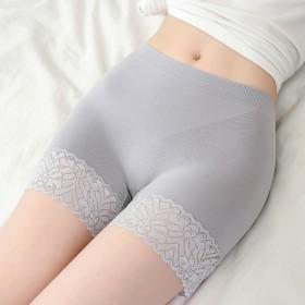 2020夏季防走光女外穿薄款大码胖mm高腰安全裤