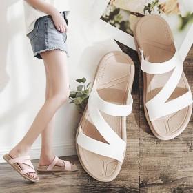 拖鞋女夏季新款休闲室内外平底凉鞋