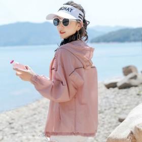 新款流行薄外套透气防空调衫仙女韩版防紫外线