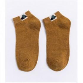 女短袜春夏薄款透气隐形船袜女船袜百搭十色情侣袜