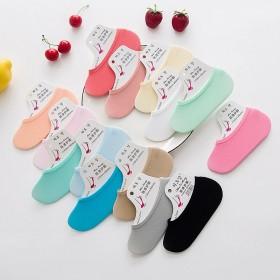 夏季超薄糖果女袜 天鹅绒隐形丝袜