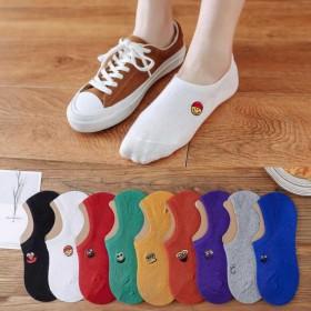 【买5双送5双】袜子女夏季船袜女浅口硅胶防滑隐形袜