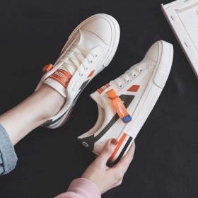 小白鞋女夏季薄款帆布鞋女2020新款运动板鞋女韩版