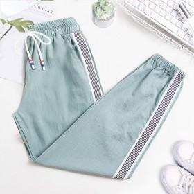 裤子女学生韩版宽松显瘦女裤夏季薄款