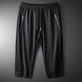 短裤冰丝七分裤速干空调裤裤子