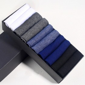 【10双】夏季男丝袜透气薄款男士冰丝袜子超薄短袜